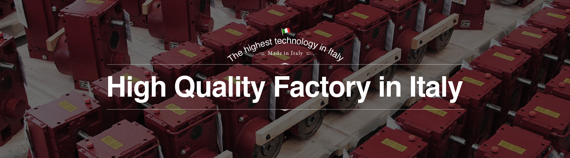 High Quality Factory in Italy